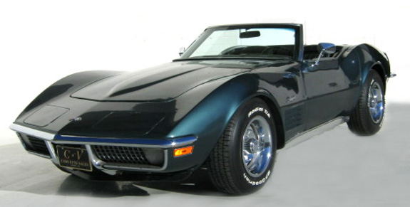 1970 Gray Corvette Convertible