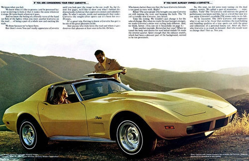 1974 Chevrolet Corvette C3 Production Statistics And Facts