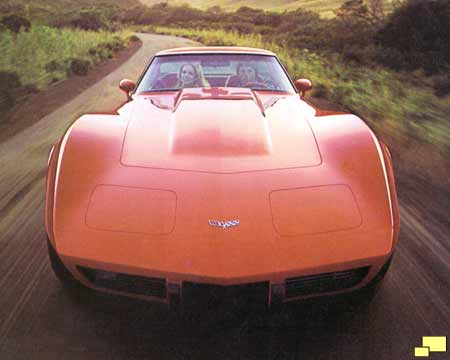 1979 Orange Corvette Coupe Ad