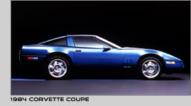 1984 Blue Corvette Coupe