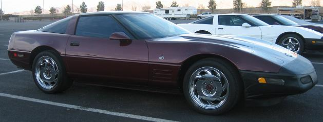 1993 Ruby Red Anniversary Coupe