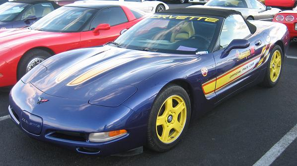 1998 Corvette Pace Car Convertible